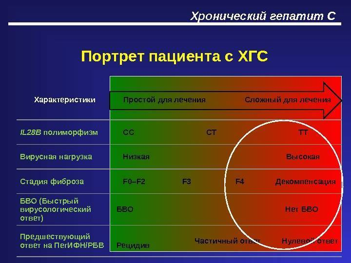 хронический гепатит ц