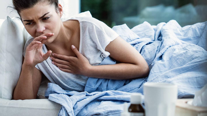 сильный ночной кашель у взрослого