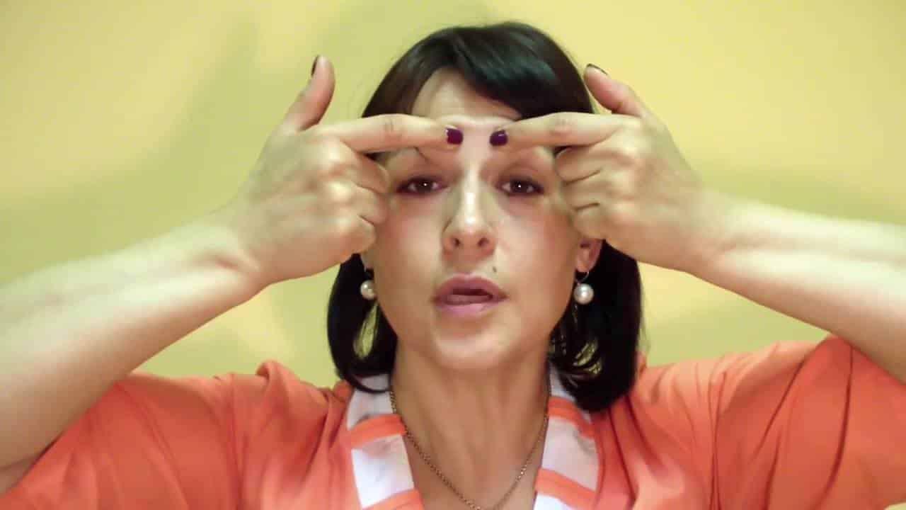 точечный массаж при гайморите
