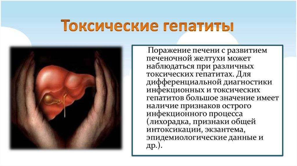 лекарство токсического гепатита