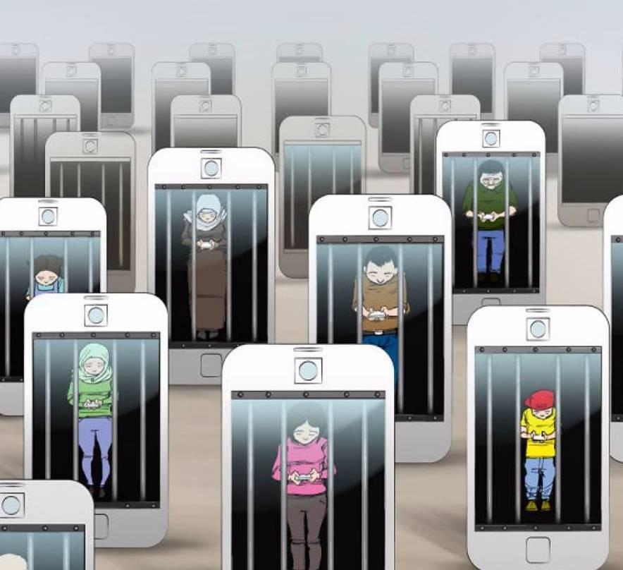 зависимость от мобильных телефонов и гаджетов