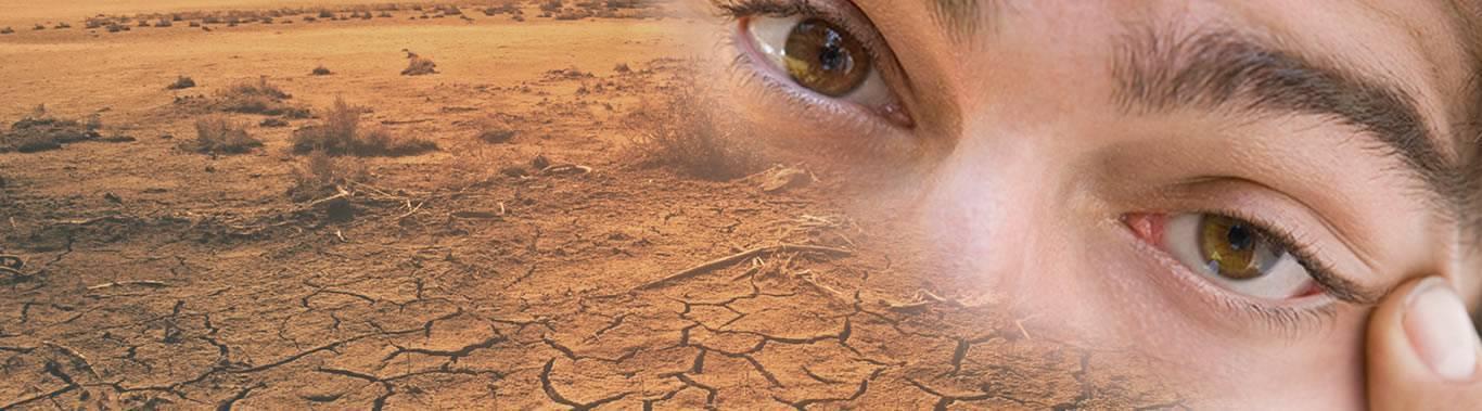 Глаза болят как песка насыпали