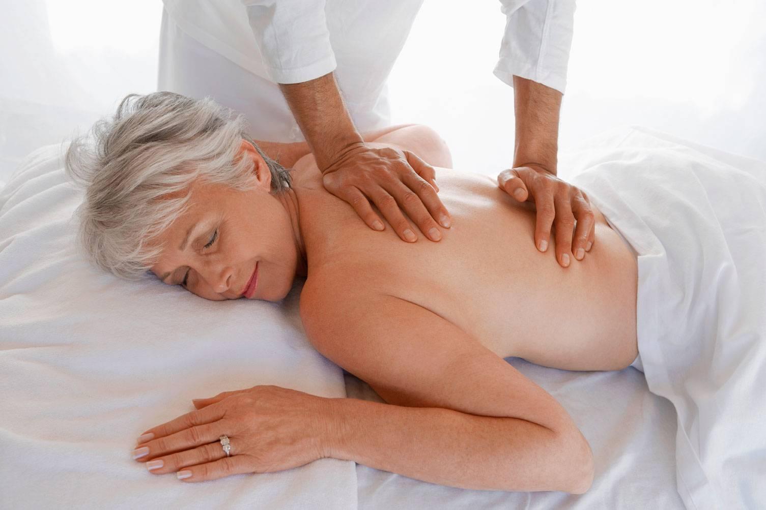 массаж при геморрое у женщин