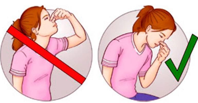 как спровоцировать кровь из носа