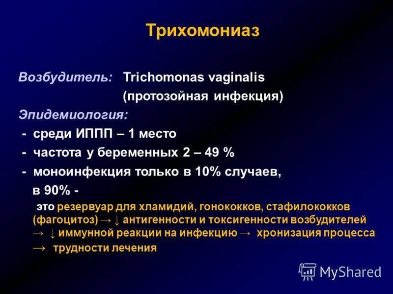 Трихомониаз