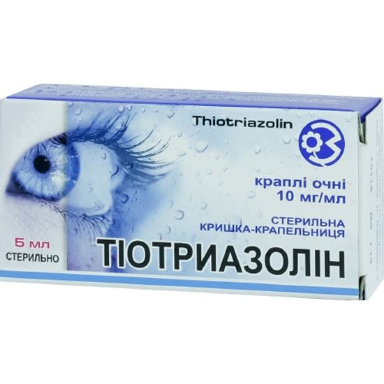 Инструкция по применению глазных капель тиотриазолин