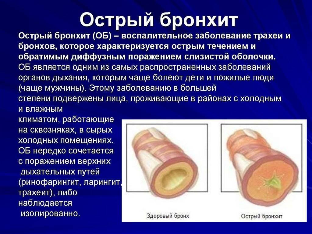 Кашель бронхит трахеит лечение
