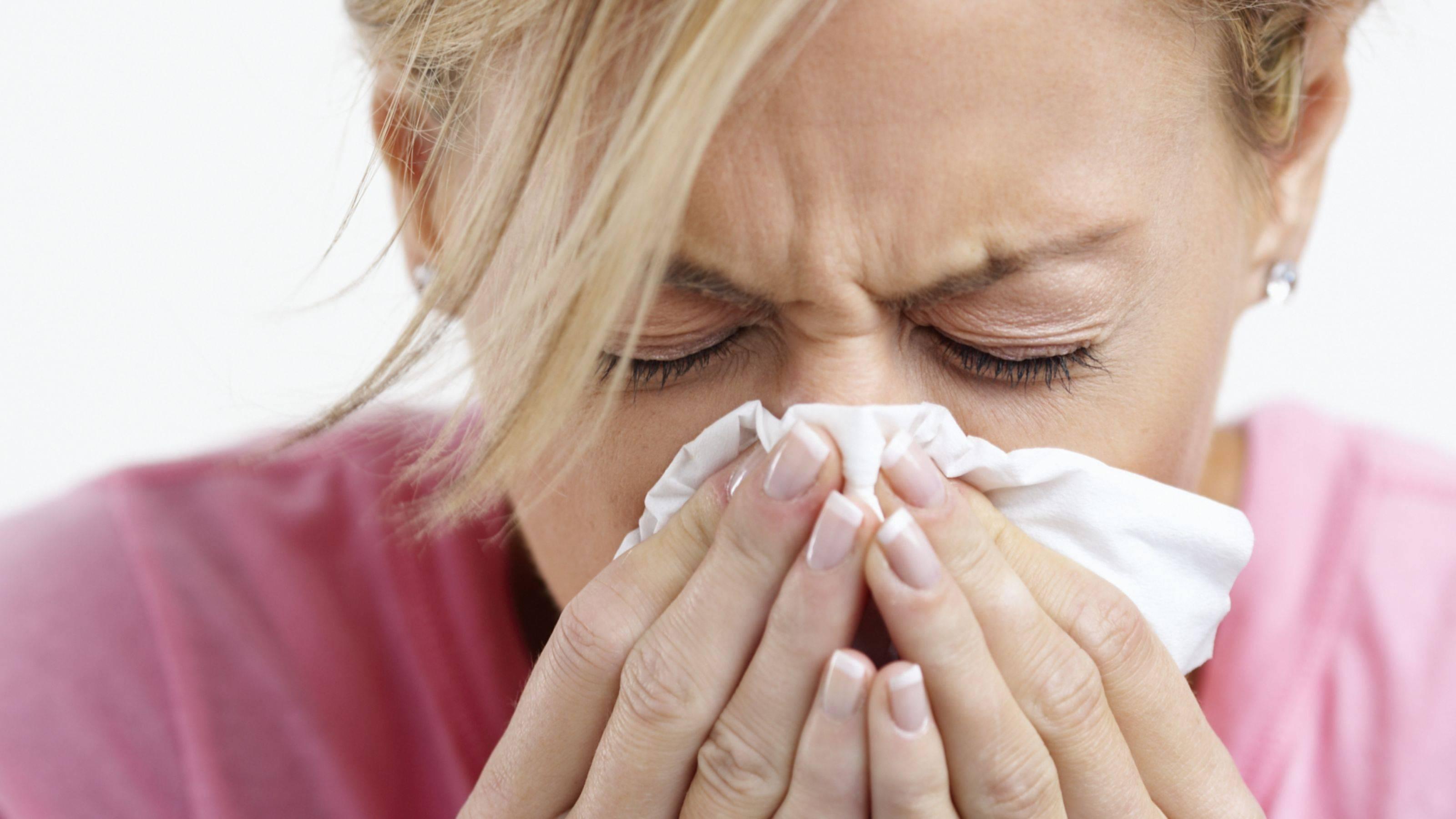 Может ли быть заложенность носа при аллергии