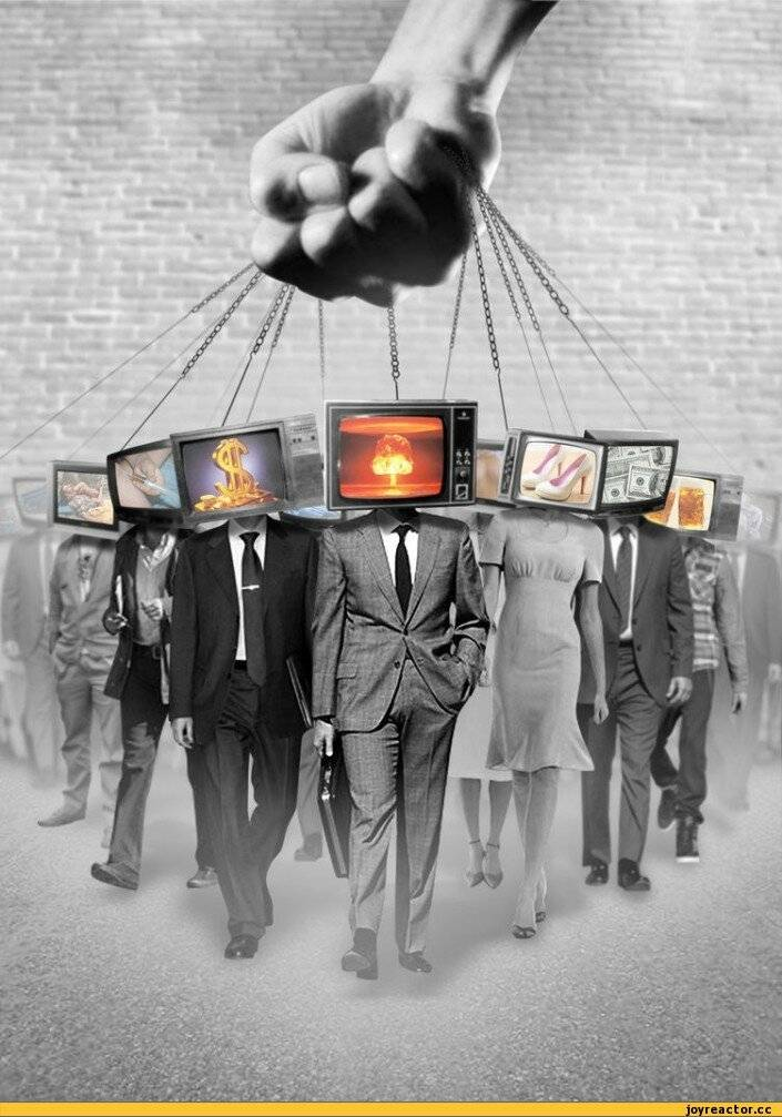 Ваша первая зависимость: как телевизор разрушает мозг (5 фото)