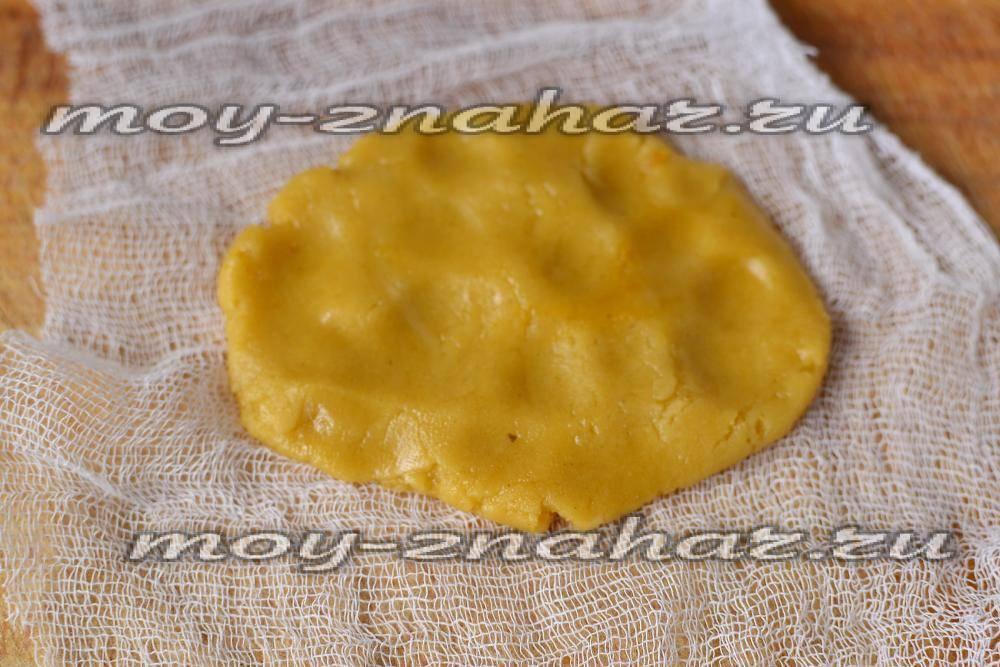 как сделать лепешку от кашля из горчицы