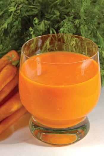Помогают ли капли в нос из морковного сока?
