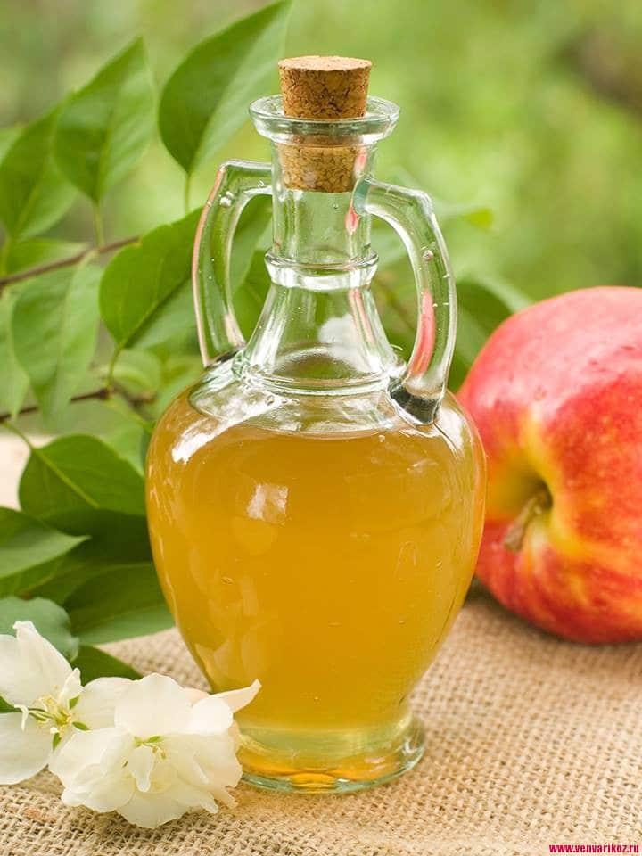 полоскание горла яблочным уксусом при ангине