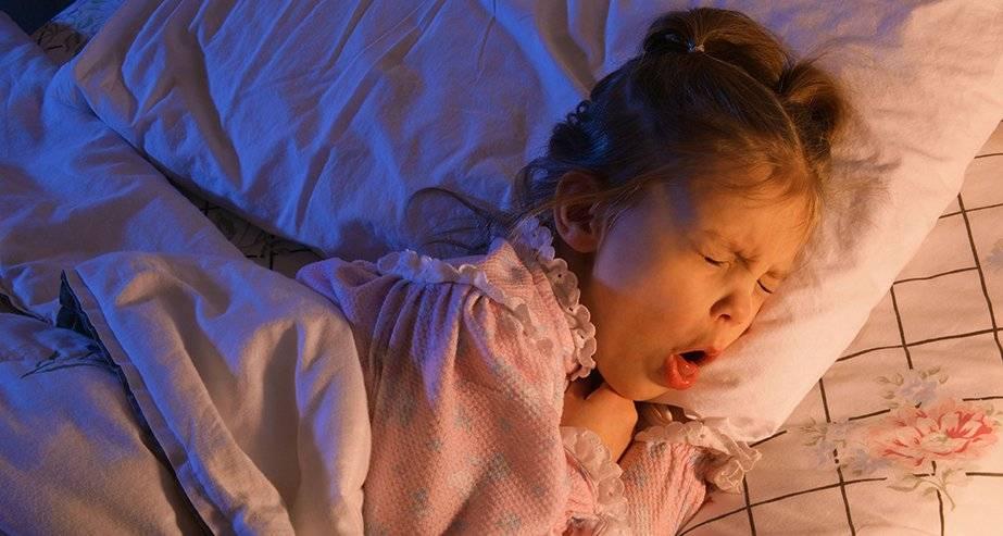 кашель ночью у ребенка