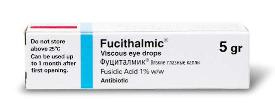 Глазные капли фуциталмик. описание препарата, цена и аналоги