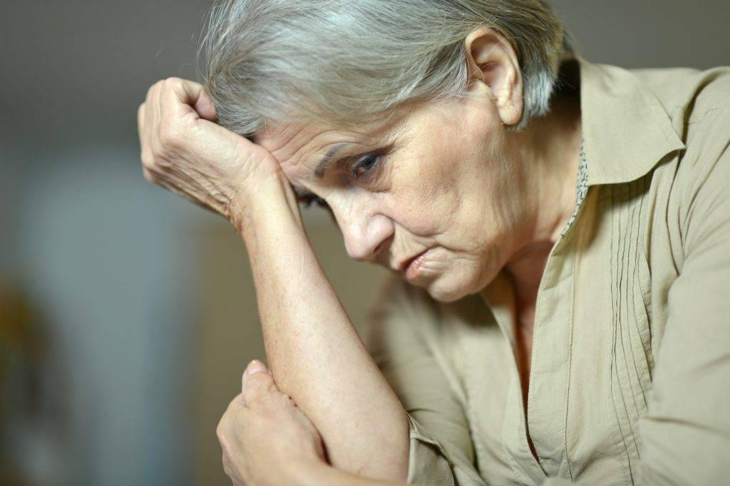 как уйти от депрессии в пожилом возрасте