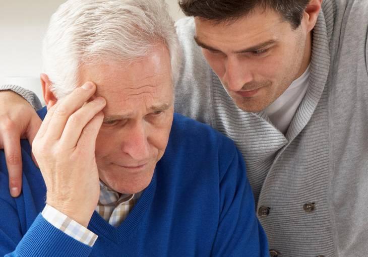 Причины и виды старческих психозов