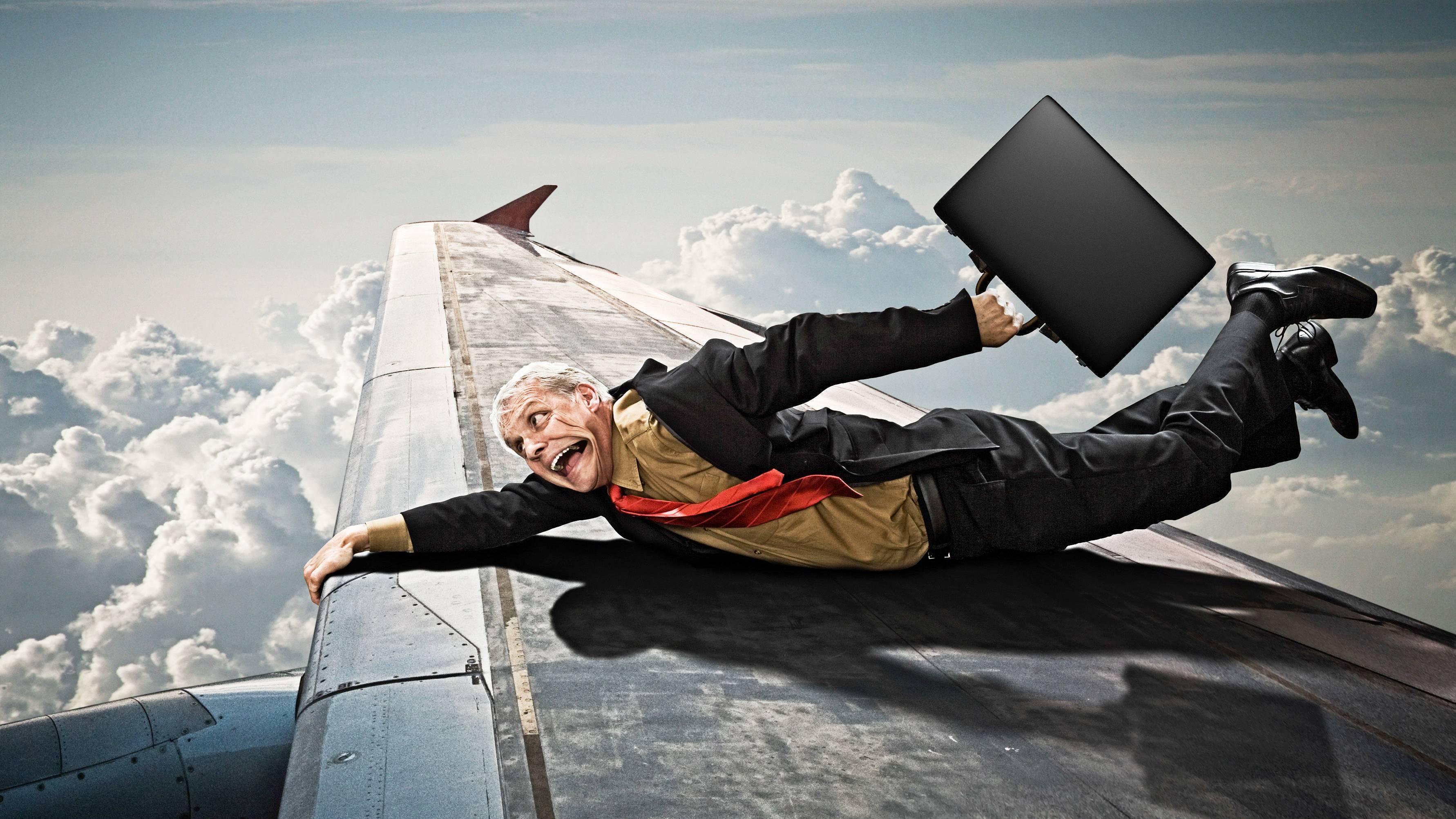 страх летать на самолете