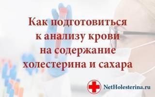 Перед сдачей анализа крови на холестерин можно пить воду