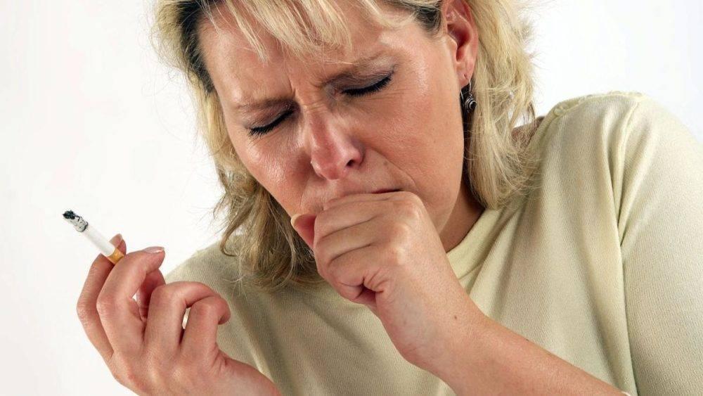 кашель от курения симптомы