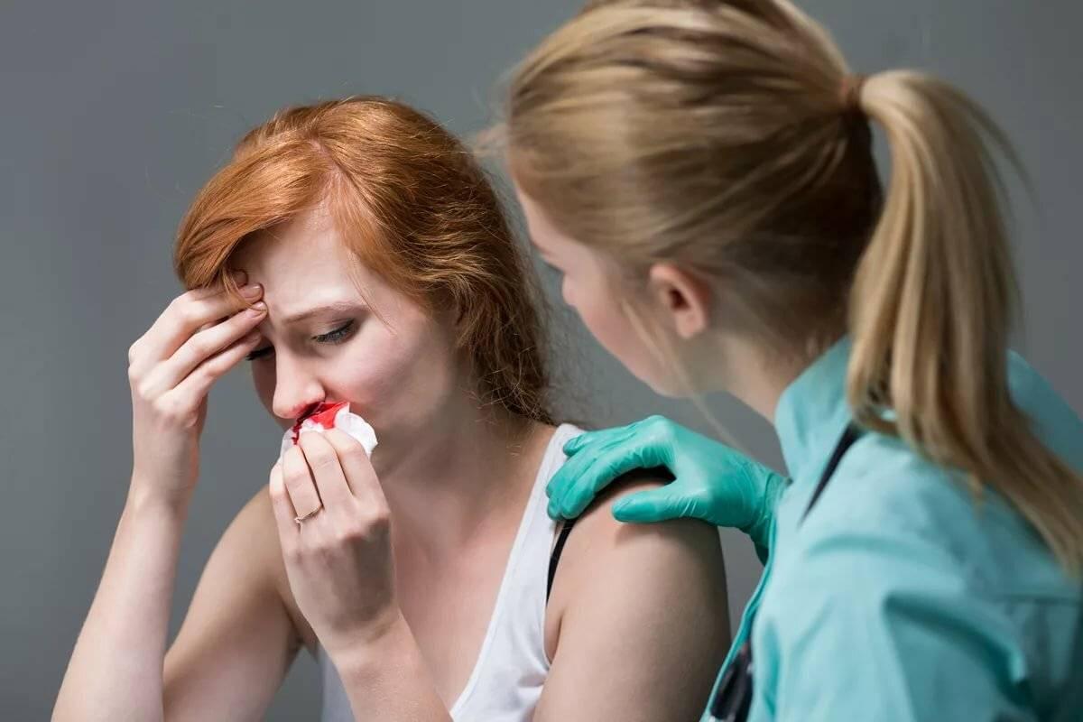 Почему при беременности идет иногда кровь из носа