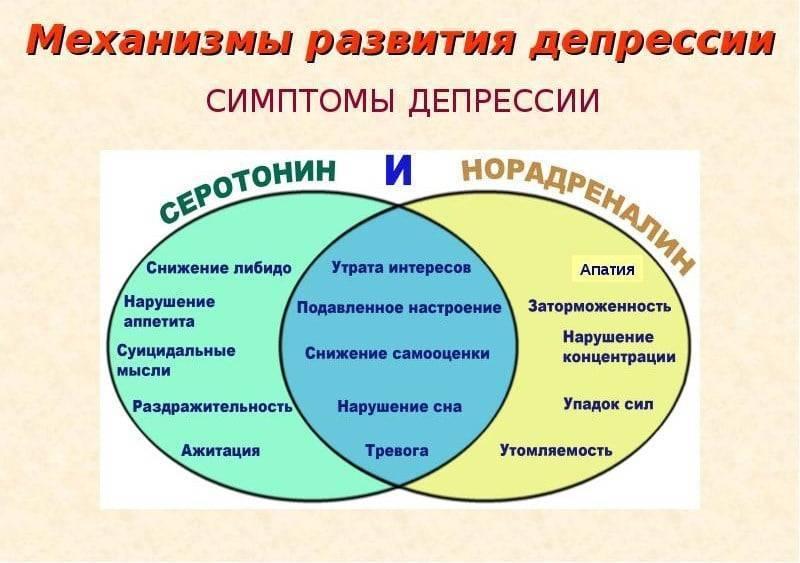 Основные отличия психогенной иэндогенной депрессий