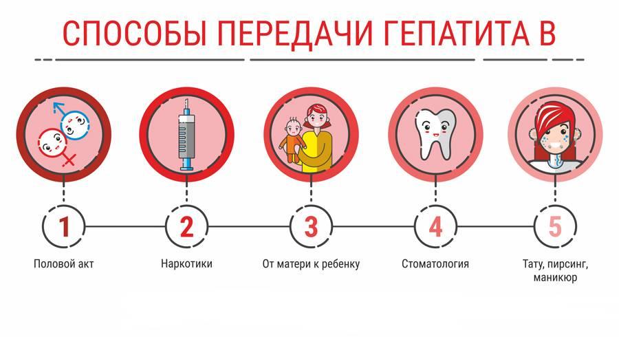 передача гепатита б