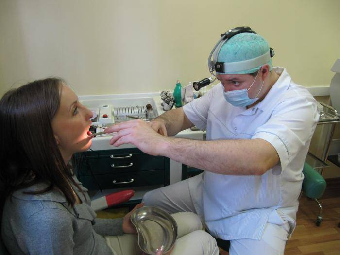 Лечение хронического тонзиллита лазером, лазерная абляция миндалин
