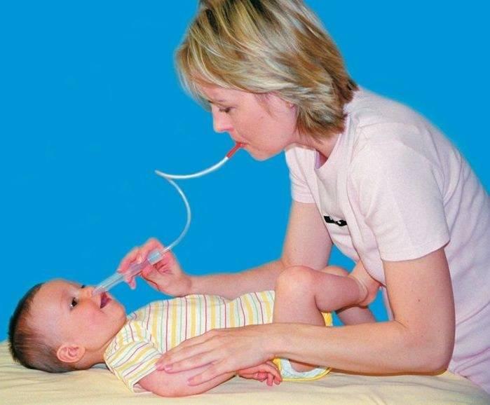 что делать если у новорожденного насморк