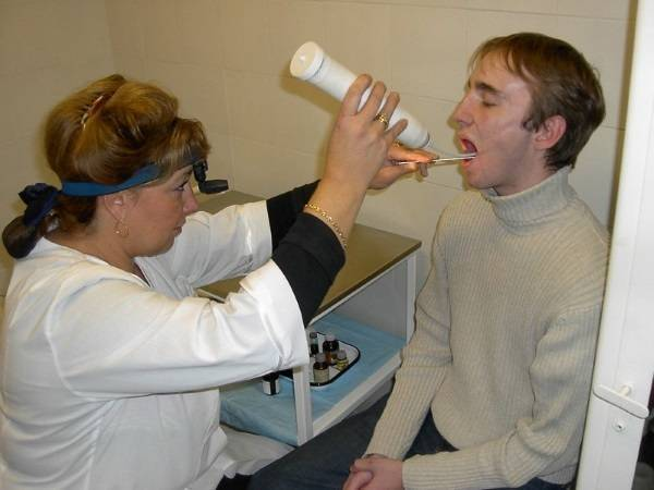 Современный метод лечения тонзиллита - прижигание миндалин