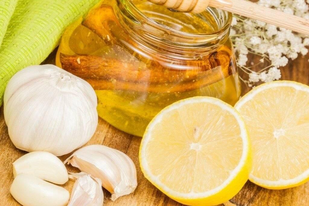 средство от холестерина из лимона и чеснока