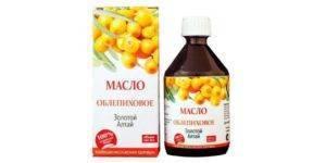 Облепиховое масло от заболеваний носа