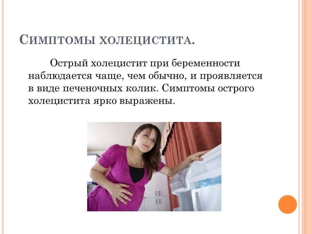 холецистит и беременность
