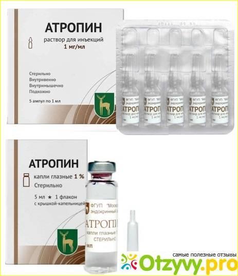 Глазные капли атропин: инструкция, противопоказания и аналоги