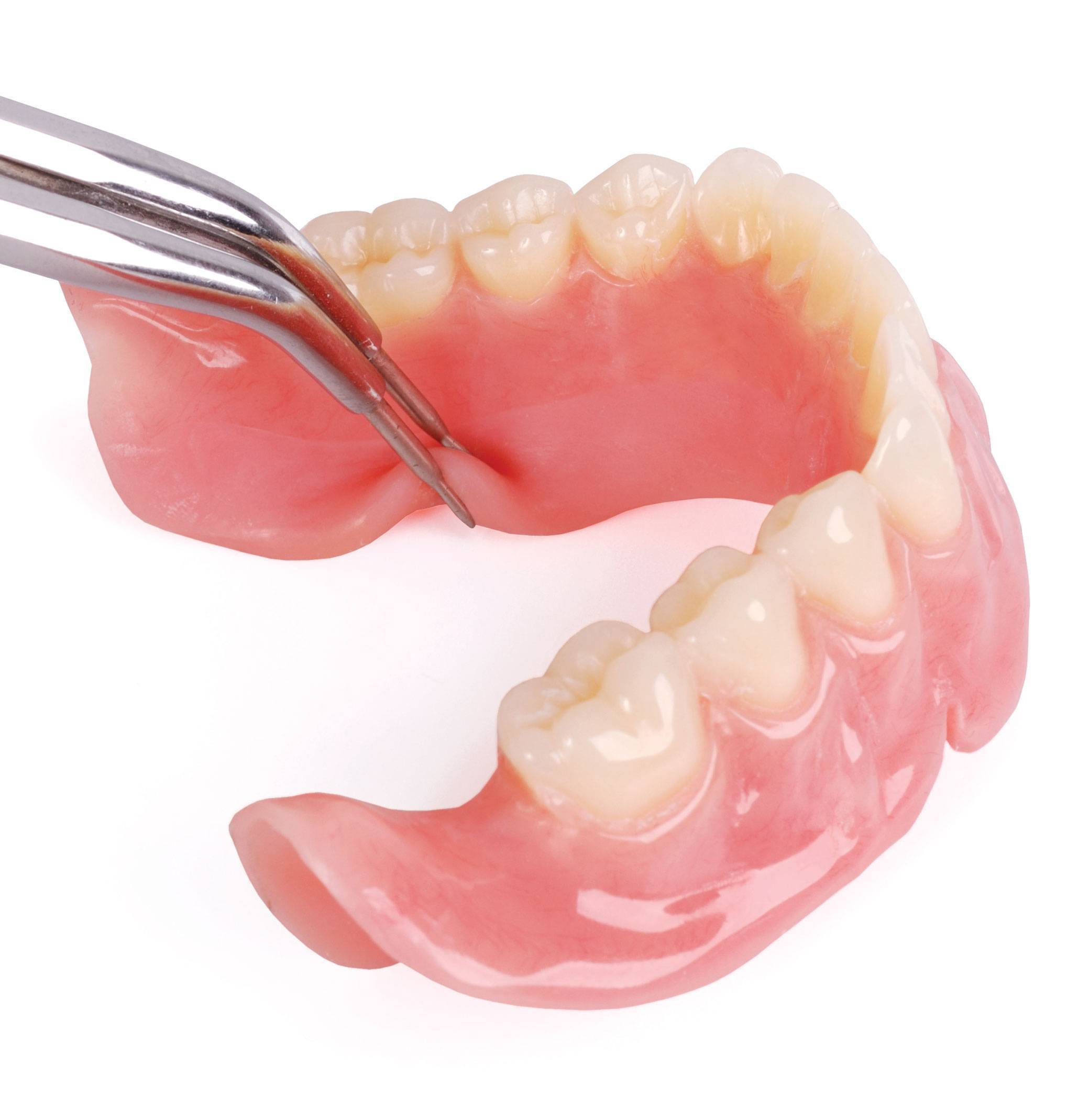 Протезирование зубов при полном их отсутствии