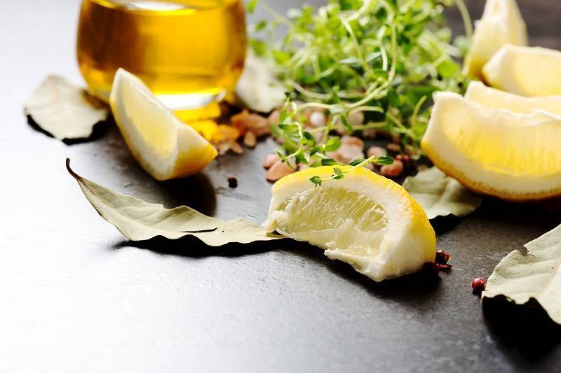 оливковое масло и сок лимона для печени