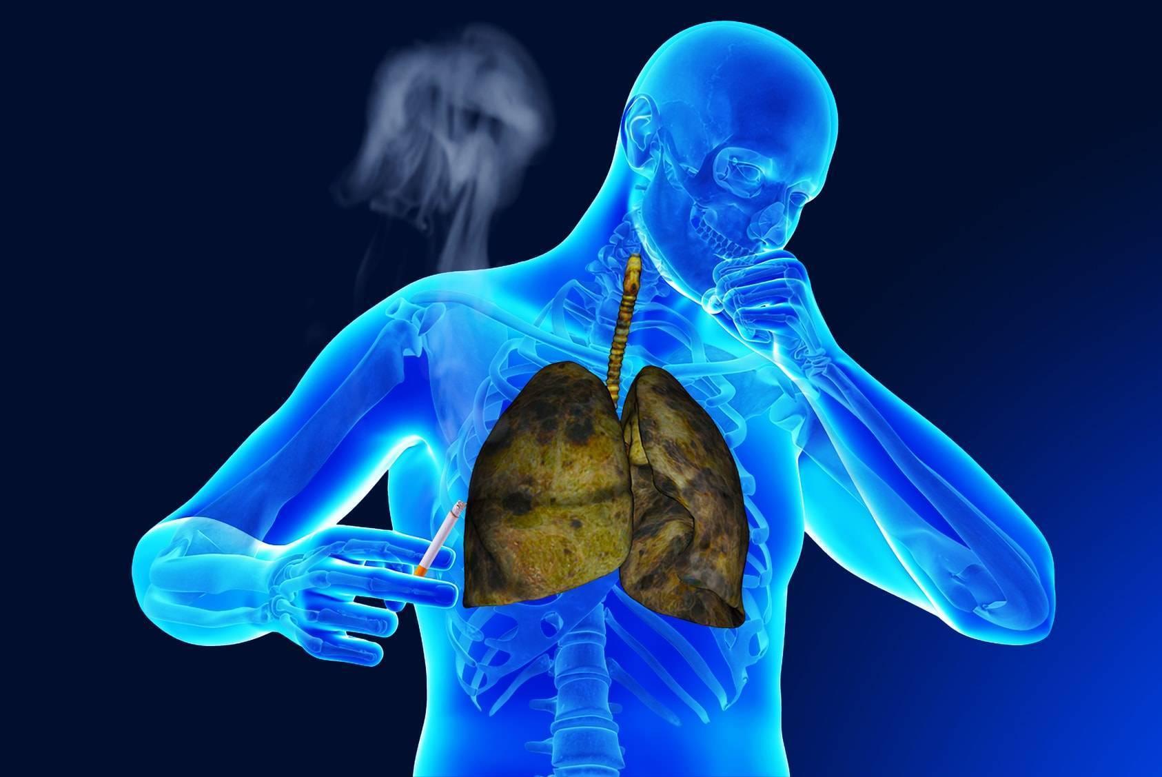 кашель после курения сигарет