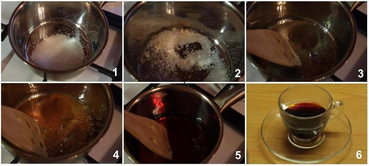 как пожарить сахар от кашля