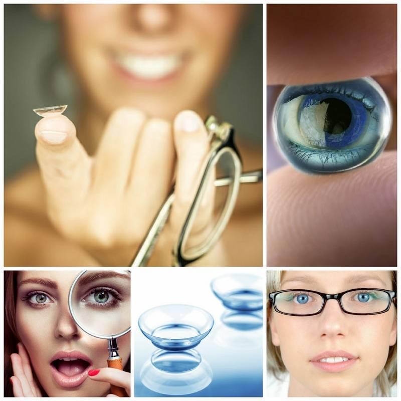Что лучше: линзы или очки?