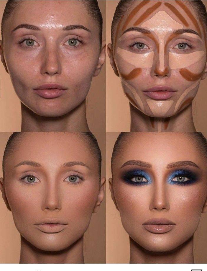 Как сделать нос меньше с помощью макияжа пошагово. как уменьшить длину носа