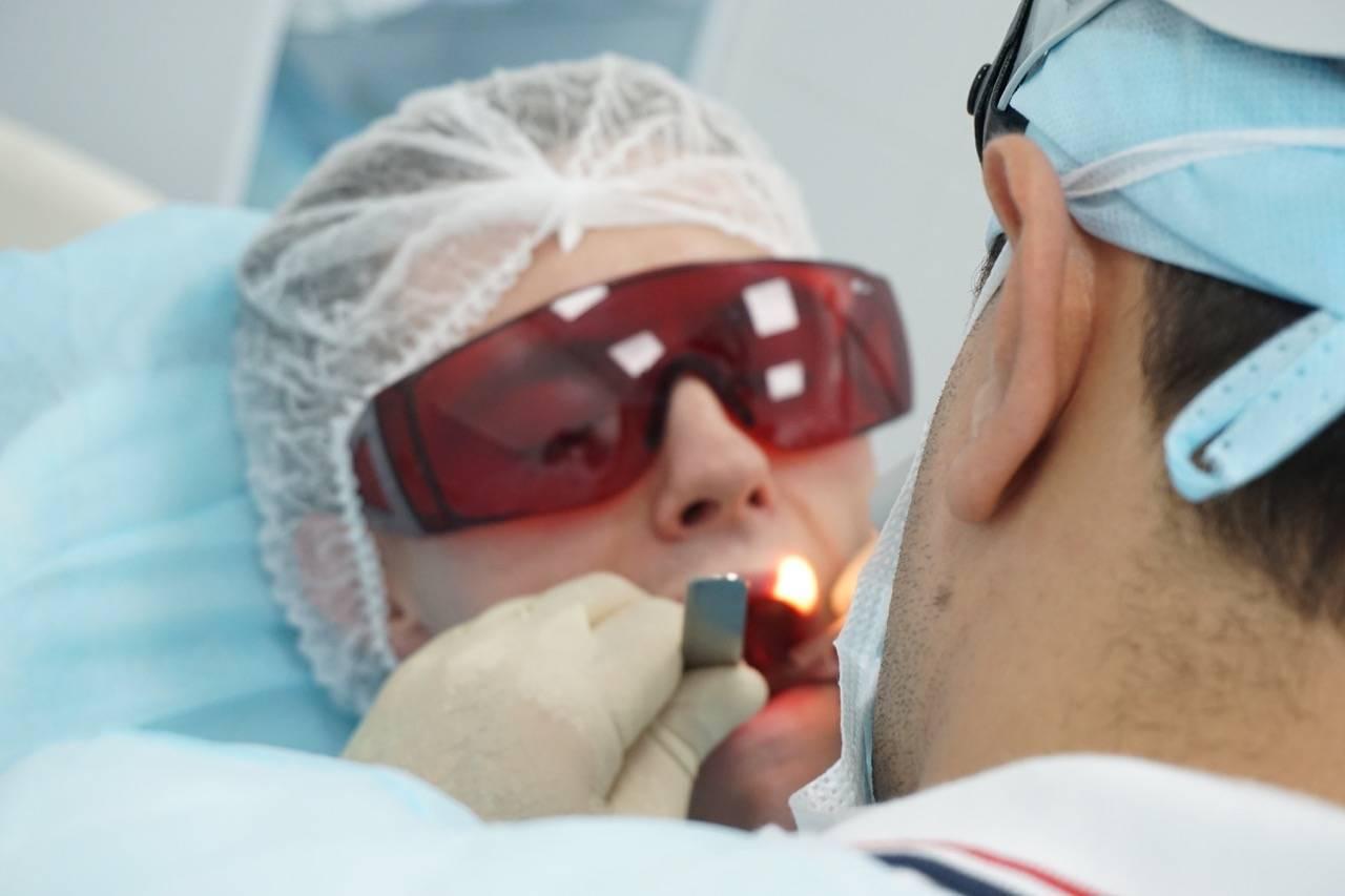 лазерное лечение тонзиллита