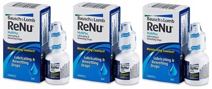 Раствор для линз реню (renu) – состав капель для глаз