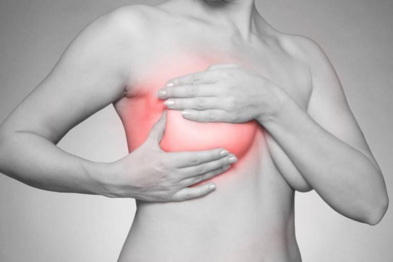 Почему грудь после месячных набухла и болит