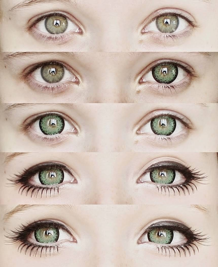 Как определить форму глаз - wikihow