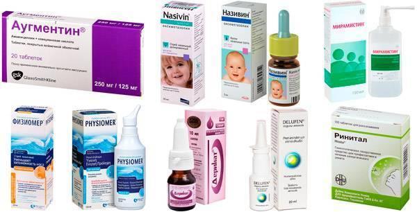 Как лечить затяжной насморк ребенку 3 лет