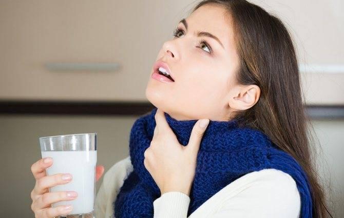 препараты для полоскания горла при тонзиллите