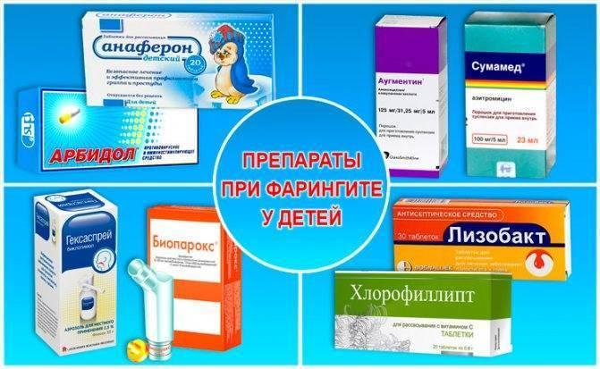 фарингит лечение антибиотиками