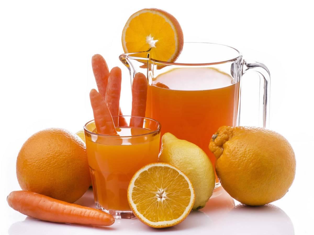 Морковный сок с маслом от насморка для детей