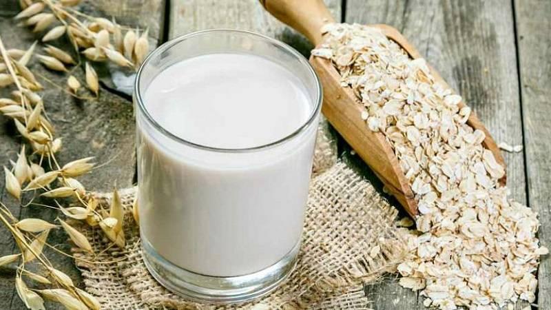 молоко с овсом от кашля