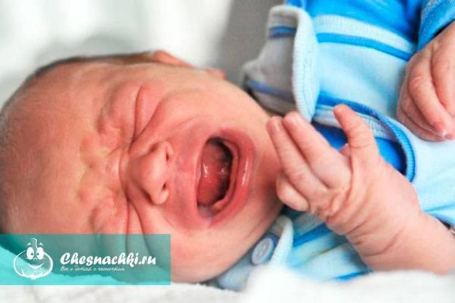 у младенца заложен нос что делать