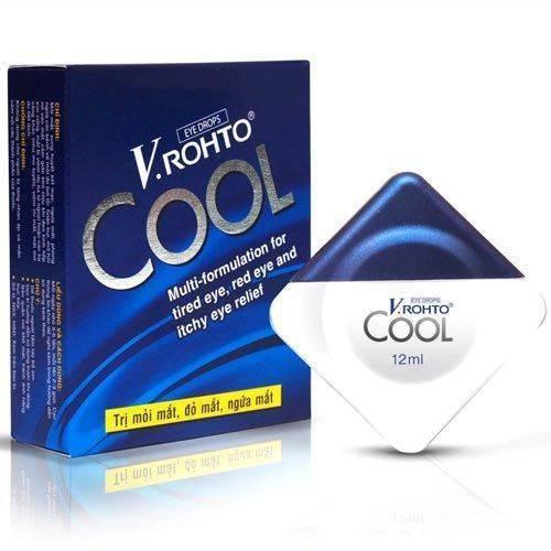 Купить v rohto cool капли глазные из вьетнама